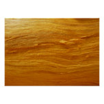 Pine Wood III Abstract Natural Tree Look Design Poster