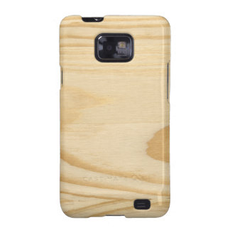 Pine Wood Texture Background Samsung Galaxy S2 Covers