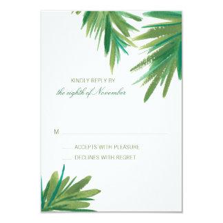 Pine Woods Watercolor | Wedding RSVP Card