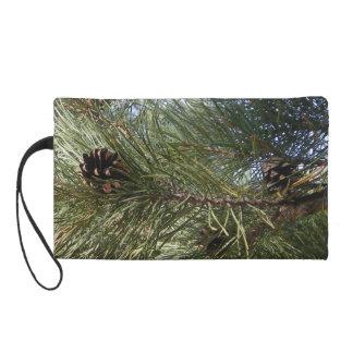 Pine Wristlet Clutches