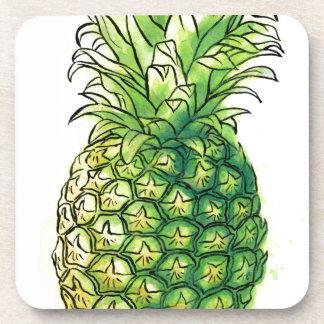 Pineaple del Watercolour Posavasos De Bebida