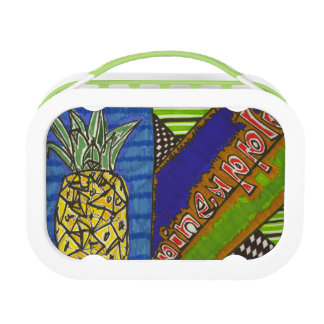pineapple (2014) lunch box