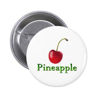 Pineapple 2 Inch Round Button