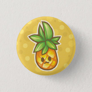 Pineapple:3 Pinback Button