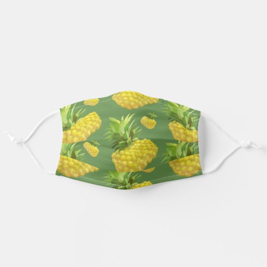 Pineapple Adult Cloth Face Mask