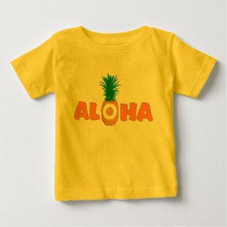 Pineapple Aloha - Hawaiian Baby Clothes T Shirt