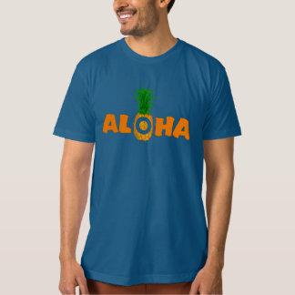Pineapple Aloha - Organic Summer T Shirt for Men