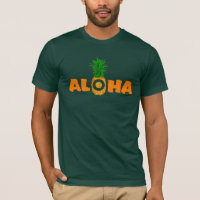 Pineapple Aloha - Summer T Shirt for Men