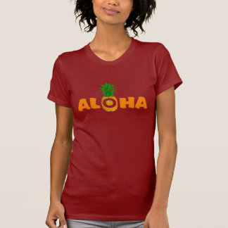 Pineapple Aloha - Summer T Shirt for Women