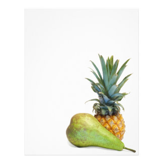 Pineapple and pear flyer