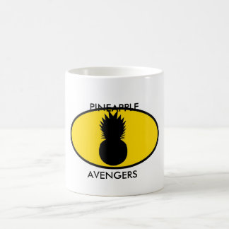 Pineapple Avengers Coffee Mug