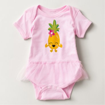 Toddler & Baby themed Pineapple Baby Bodysuit
