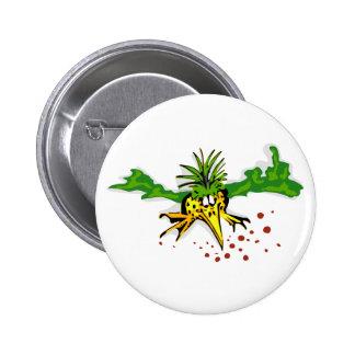 Pineapple bird pin