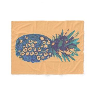 Beach Themed Pineapple Blanket