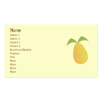 Pineapple Business Cards