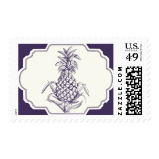 Pineapple by Ceci New York Postage Stamp