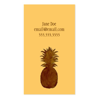 Pineapple Calling Card Business Card