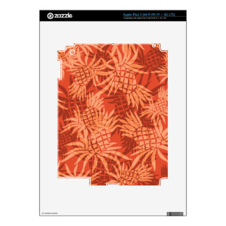 Pineapple Camo Hawaiian iPad 3 /Tablet Skin Skin For iPad 3
