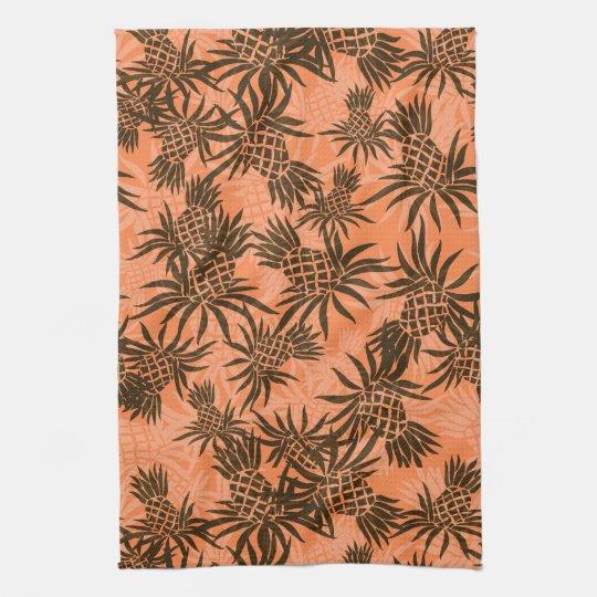 Pineapple Camo Hawaiian Kitchen Towel