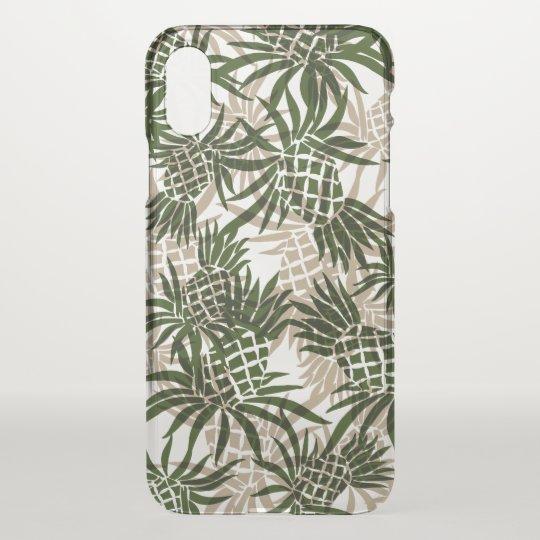 bb794af2 Pineapple Camo Hawaiian Tropical Khaki Olive Green Uncommon iPhone Case |  Zazzle.com