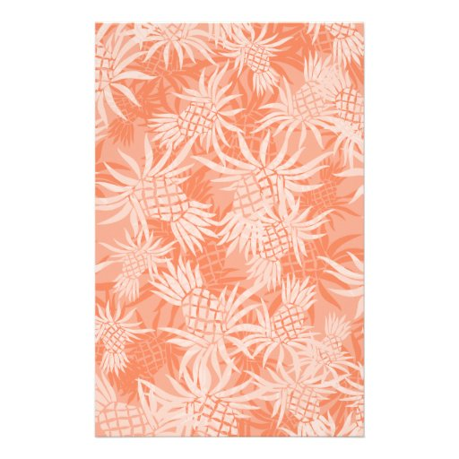 Pineapple Camo Hawaiian Tropical Stationery