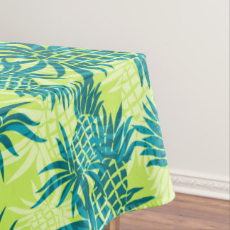 Pineapple Camo Hawaiian Tropical Tablecloth