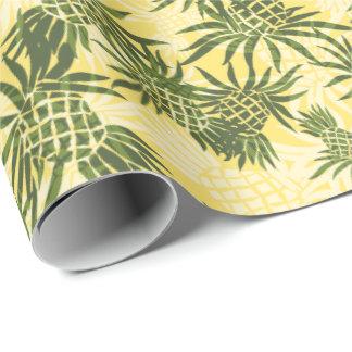 Pineapple Camo Hawaiian Tropical Wrapping Paper
