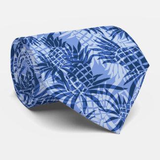 Pineapple Camo Hawaiian Two-sidedPrinted Neck Tie