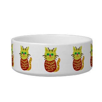 Pineapple Cat Bowl