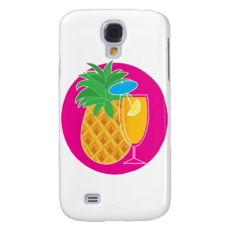 Pineapple Cocktail Galaxy S4 Case
