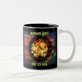 Pineapple Coleslaw (Purple) Two-Tone Coffee Mug