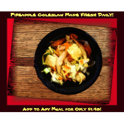Pineapple Coleslaw (Red)
