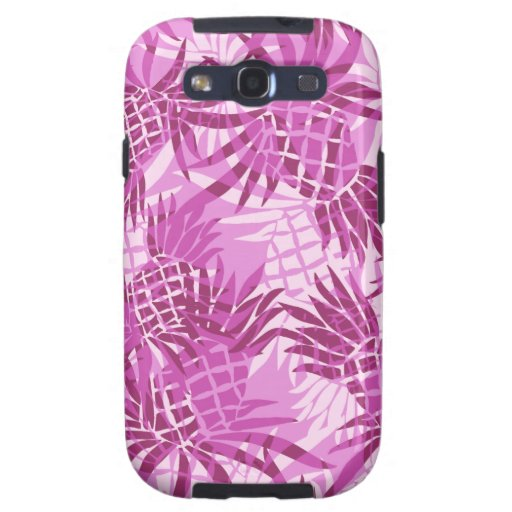 Pineapple Collage Hawaiian Cases Galaxy SIII Cases