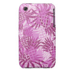 Pineapple Collage Hawaiian Cases iPhone 3 Case