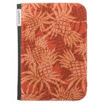 Pineapple Collage Hawaiian Kindle Folio Kindle Covers