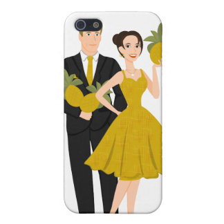 Pineapple Couple Case For iPhone SE/5/5s