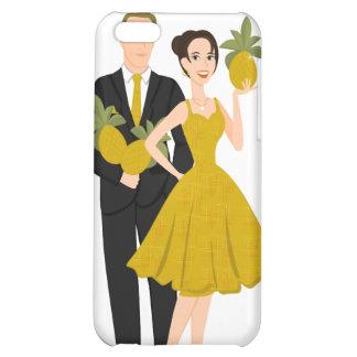 Pineapple Couple iPhone 5C Cases