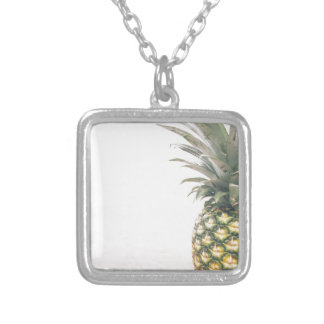 Pineapple Crown Silver Plated Necklace