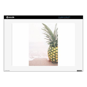 Beach Themed Pineapple Crown Skin For Laptop