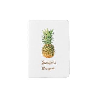 Pineapple Custom Passport Holder