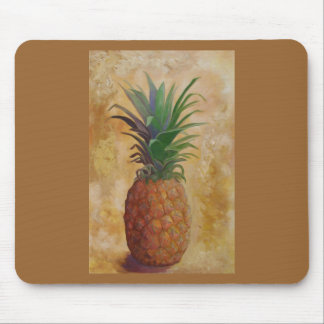 Pineapple Design Mousepad