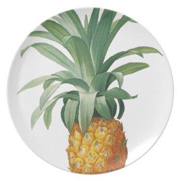 Beach Themed Pineapple Dinner Plate