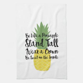 Pineapple Dish Towel at Zazzle