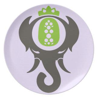 Pineapple Elephant Party Plates