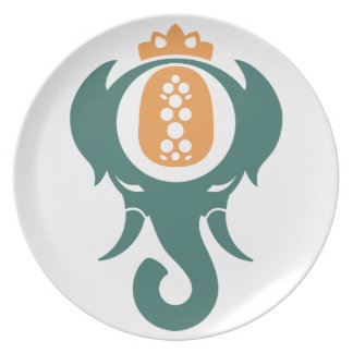Pineapple Elephant Plates
