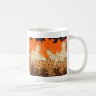 Pineapple Fields (Vintage Aloha Print) Mugs
