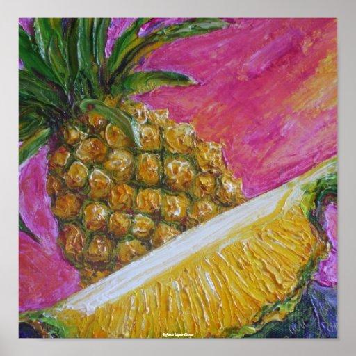Pineapple Fine Art Poster