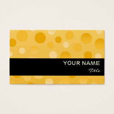 Professional Business Pineapple Fizz business card template black stripe