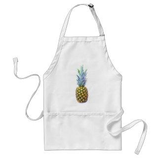 Pineapple Fruit Beach Dessert Colorful Tropical Adult Apron