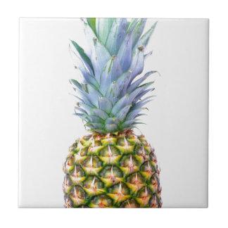 Pineapple Fruit Beach Dessert Colorful Tropical Ceramic Tile